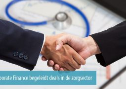 JBR Corporate Finance begeleidt transacties in de zorgsector