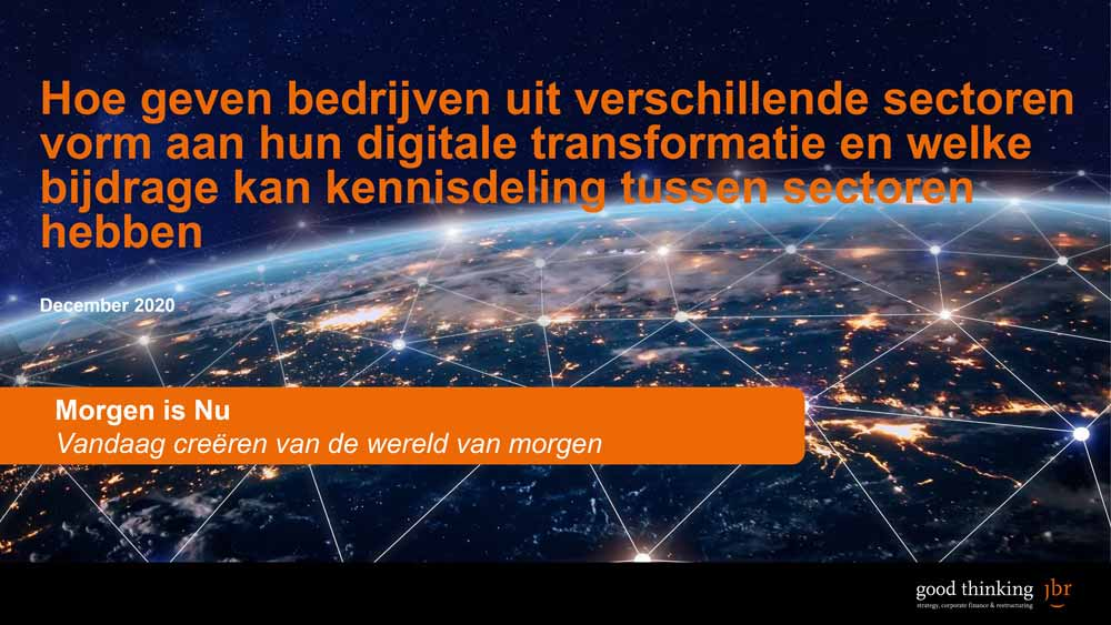 Rapport 'Survey-digitale-transformatie-en-kennisdeling-tussen-sectoren'